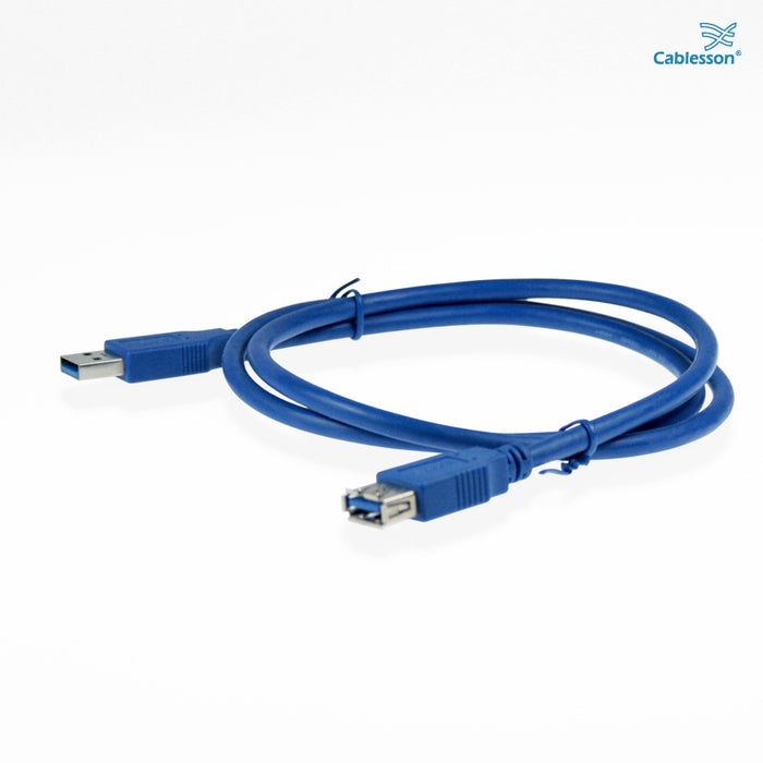 Cablesson USB Version 3.0 A Male to A Female Extension Cable 1M - hdmicouk