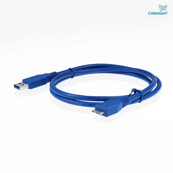 Cablesson USB Version 3.0 A Male to Micro B Male Cable 3M - hdmicouk