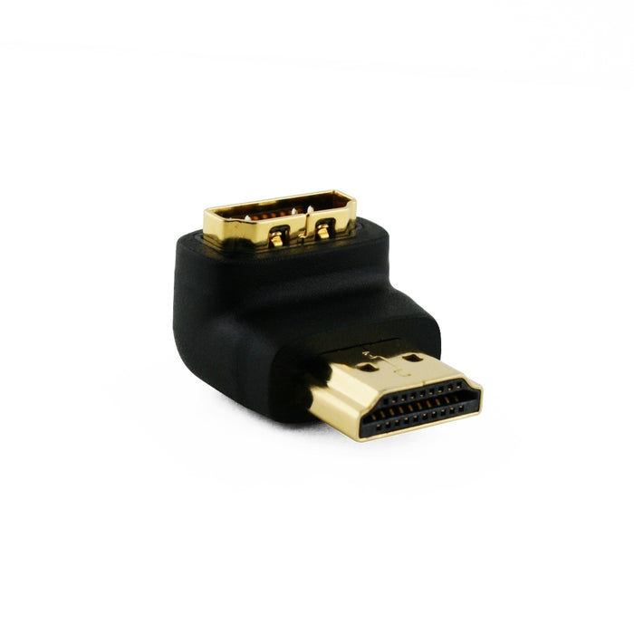 Cablesson Basic 90 Degree Right Angled HDMI Adapter - Male to Female - hdmicouk