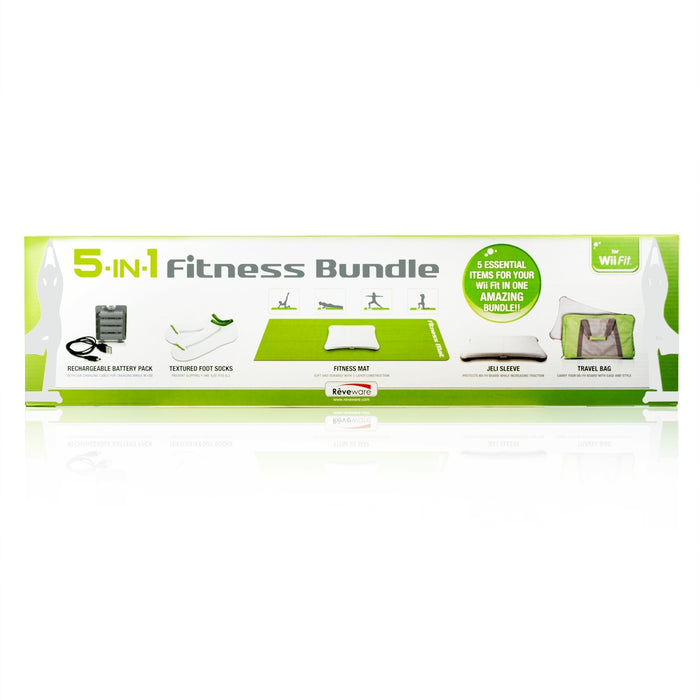5 in1 Wii Fit Bundle for Nintendo Wii Fit (Wii Fit Board not included) - ReveWare - HDMICOUK
