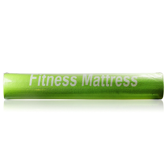 Fit Mattress - Yoga Mat For Pilates, Gym, Non Slip, Camping, Picnic Mat and Lightweight - hdmicouk