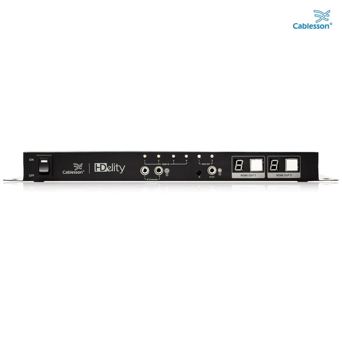 Cablesson HDElity 4x2 HDMI Matrix + IR Passback (High Speed with 3D support)
