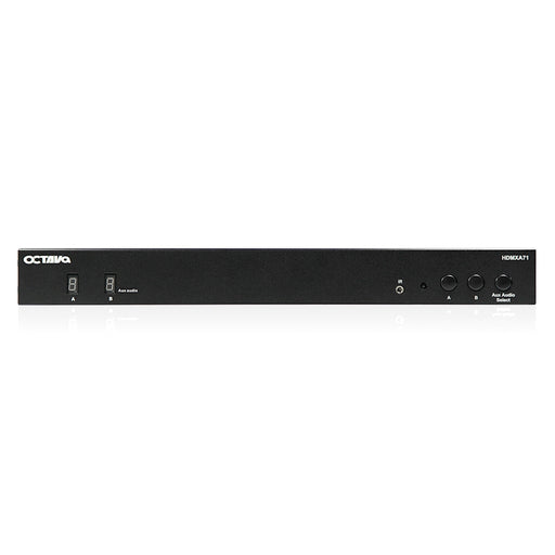 Octava - HDMXA71-UK 4x2 HDMI Matrix + 7.1 Analogue Audio - Converter - hdmicouk