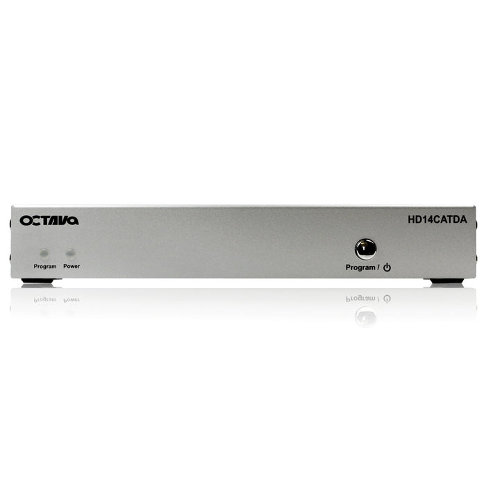 Octava HD14CATDA/3 Distribution Amp + 2 Zone Receiver (CAT5/6)  (1080p, SKY HD, Virgin HD, Freeview HD, XBOX 360, XBOX One, PS3, PS4, 3D) - hdmicouk