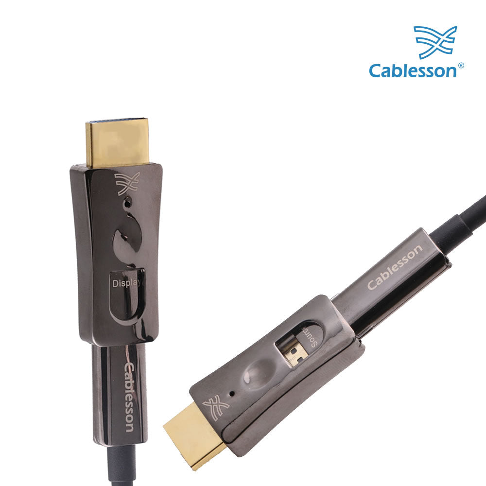HDElity Active Optical Detachable Cable HDMI - Micro HDMI - 10m-30m