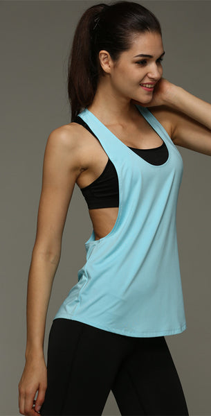 Dry Quick Loose Gym Fitness Sport Sleeveless Vest Singlet for Running Training