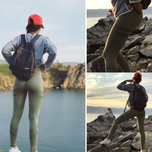 High Waist Sporting Leggings Clothing For Women's Fitness Quick Dry Pants