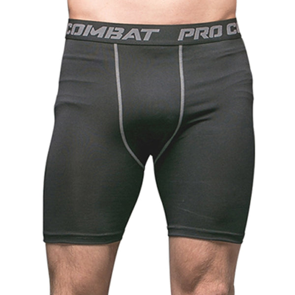 Men's Bodyboulding Shorts Compression running Fitness Sweat Elastic gym Shorts