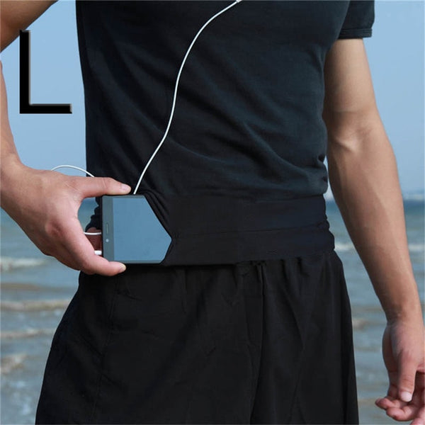 Men Lady Running Phone Waist Bag Pouch Jogging Belt Race Marathon Cycling Belly BagBumbag Waistbag Wallet