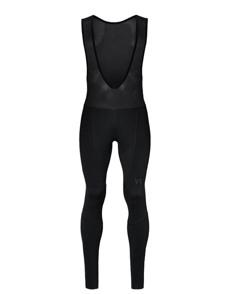 BLACK CYCLING Winter Bib pants With 4D Gel Pad