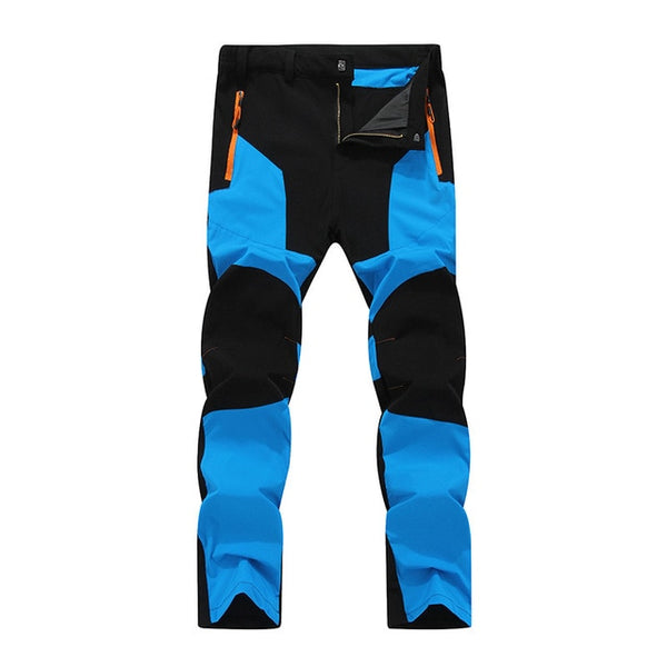 Men Elastic Water Resistant Pants Windproof Durable Hiking Camping Cycling MTB Bike Bicycle Pant
