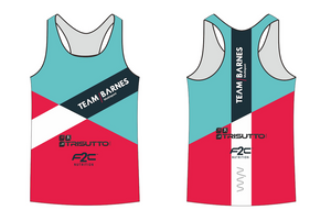 TEAM BARNES running singlet - men's