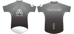 lung club premium cycling jersey - men's