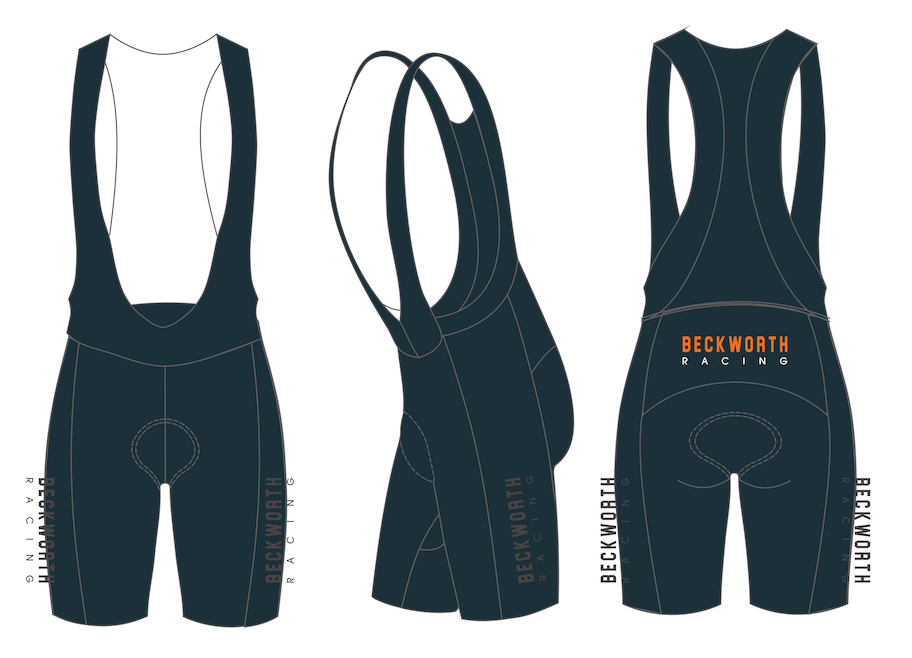 BECKWORTH racing premium bib shorts - women's *NEW 2020 ITEM