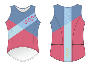 team WYN 2019 sleeveless triathlon top - women's
