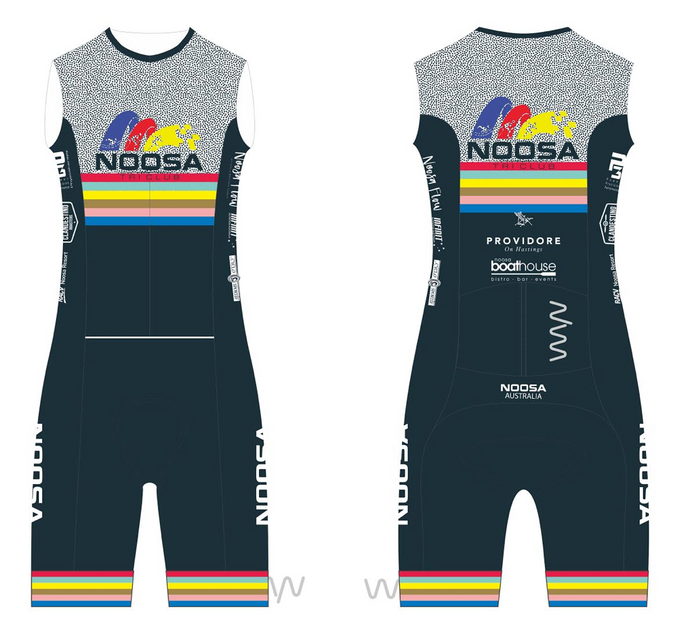 NOOSA TRI CLUB men's sleeveless triathlon suit