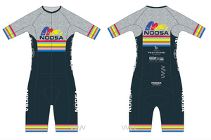 NOOSA TRI CLUB men's aero+ sleeved tri suit