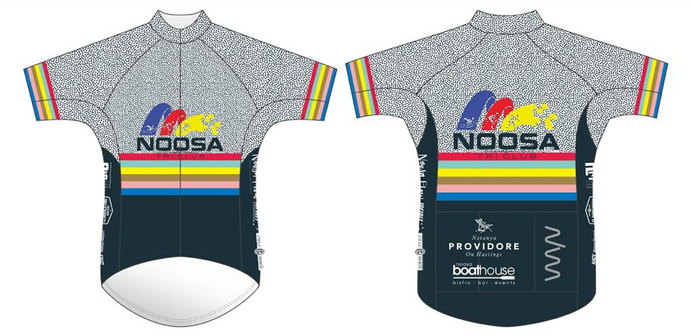 NOOSA TRI CLUB men's premium cycling jersey