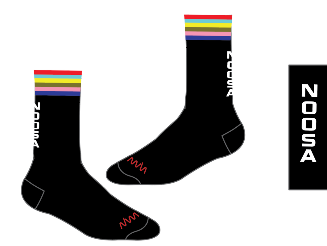 NOOSA TRI CLUB multisport socks