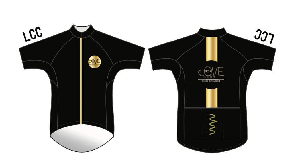 Little Cove Coffee premium cycling kit - men's
