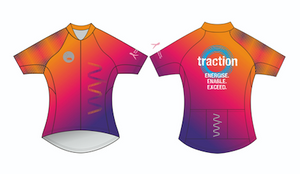 Traction premium cycling jersey - women's