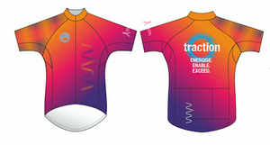 Traction premium cycling jersey - men's
