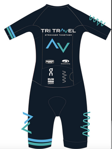 Tri Travel 2020 aero+ triathlon suit - men's