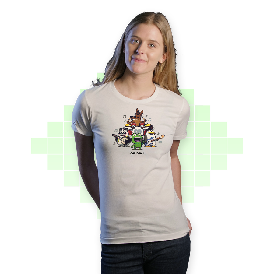 Game Jam Band T-shirt Women