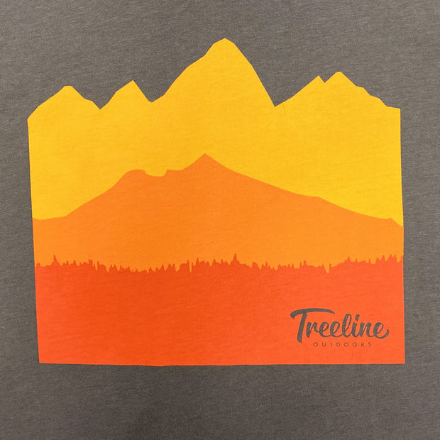 "Treeline T-Shirt ""Mountain Tee"""