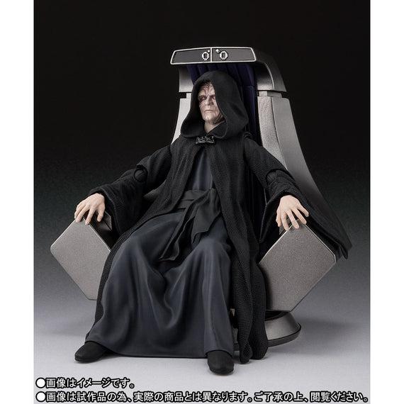 Star Wars S.H.Figuarts Emperor Palpatine -Death Star II Throne Room Set- (Return of the Jedi)(PRE-ORDER June 27)