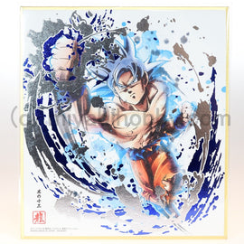 Dragon Ball Z Super Shikishi ART Ultra Instinct Gokou #13 (Ultimate Rare)