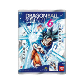 Dragon Ball Z Super Colored Paper Shikishi ART Vol 6 BOX Unopened 10 Pcs