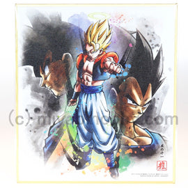 Dragon Ball Z Super Colored Paper Shikishi ART Super Saiyan Gogeta Gokou #11