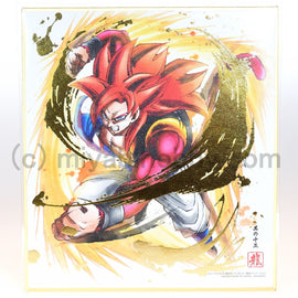 Dragon Ball Z Super Colored Paper Shikishi ART Gogeta #15 (Ultimate Rare)