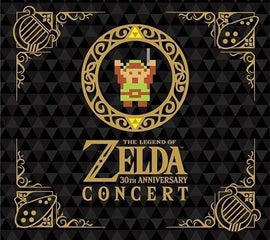 The Legend of Zelda 30th Anniversary Concert Limited Edition 2 CD DVD