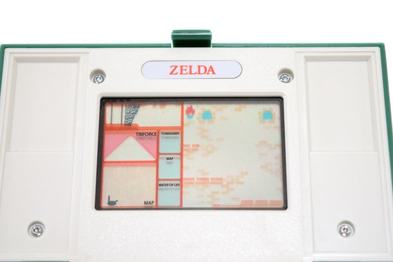 Nintendo Game & Watch 1989 Zelda Multi screen ZL-65 (Top Plastic Protect Intact)