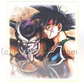 Dragon Ball Z Super Colored Paper Shikishi ART Bardock and Freeza #09