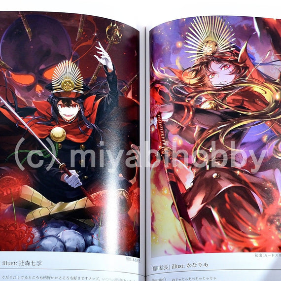 "Fate/Grand Order ""THE CATALYSIS ILLUSTRATIONS"" book TYPE MOON"
