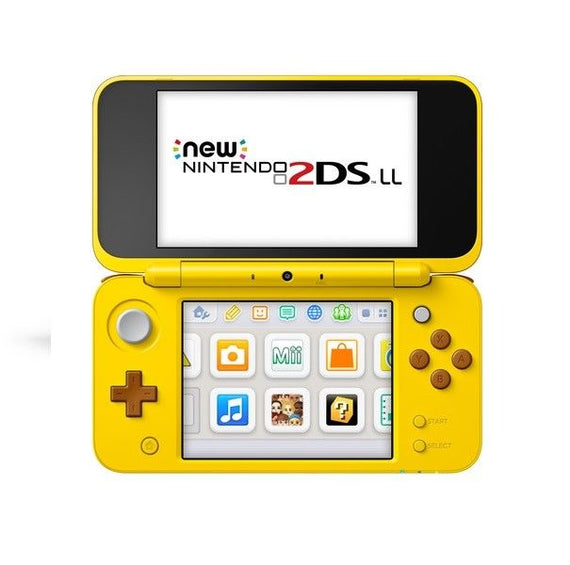 Nintendo New 2DS LL Pikachu Edition (Pokemon Center)