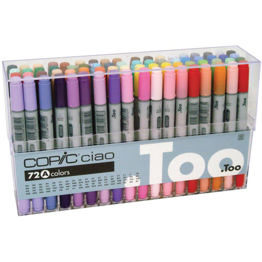 Copic CIAO 72 color Set (A) Premium Artist Markers