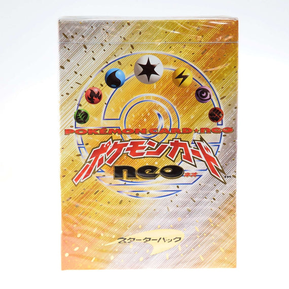 Pokemon Card 2000 Neo Genesis Starter box