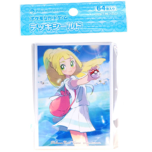 Pokemon Deck Shield Lillie Wingull (64 Pcs) Standard Size Sleeves
