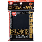 KMC Card Barrier Perfect BLACK (80 Pcs) Standard Size Sleeves