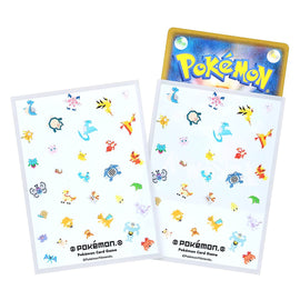 Pokemon card Sleeves BL Pokemon White (64 Pcs)