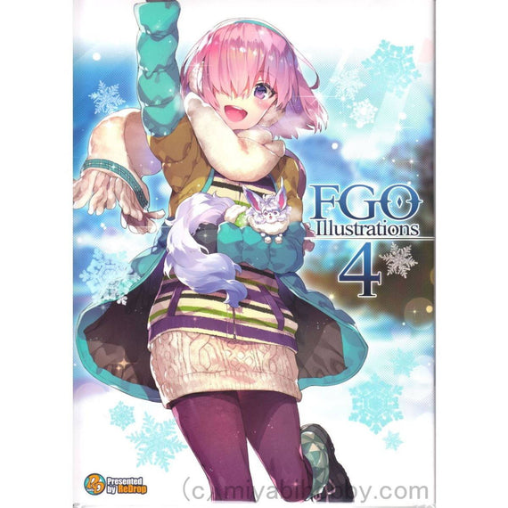 "Fate/Grand Order Illustration Art Book ""ReDrop 4th"""