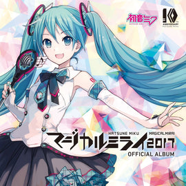 Hatsune Miku Magical Mirai 2017 OFFICIAL ALBUM CD+DVD (Limited edition)