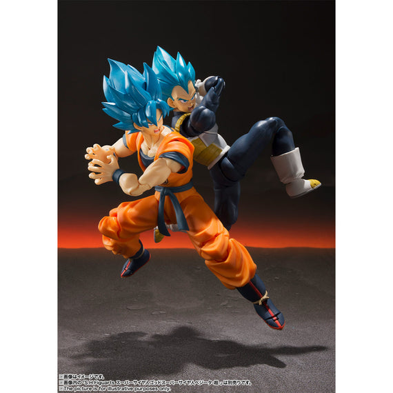 Dragon Ball Super Saiyan God SS Son Goku S.H.Figuarts -Evolved form-