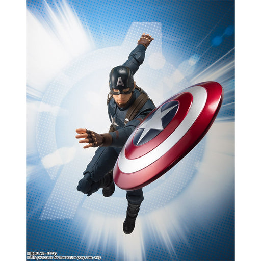 Avengers Endgame Captain America S.H.Figuarts (PRE-ORDER May 27)