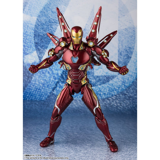 Avengers Endgame Iron Man Mark 50 With Nano-Weapon Set #2 S.H.Figuarts (PRE-ORDER May 27)