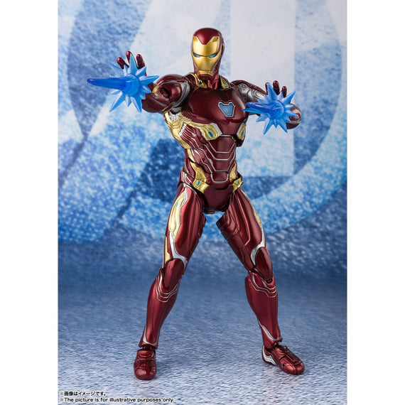 Avengers Endgame Iron Man Mark 50 With Nano-Weapon Set #2 S.H.Figuarts